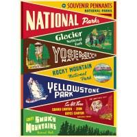 Vintage Park Pennants Poster