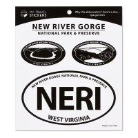 New River Gorge Triple Decal