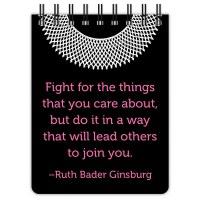 Ruth Bader Ginsburg Notebook