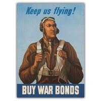 Tuskegee Airmen Keep Us Flying Magnet
