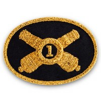 Union Artillery Officer Patch