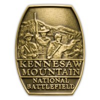 Kennesaw Mountain National Battlefield Park Hiking Medallion