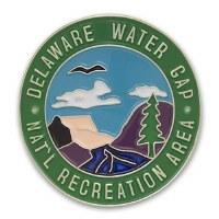 Delaware Water Gap National Recreation Area Hiking Medallion