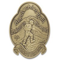 Appalachian Trail Hiking Medallion - Pennsylvania