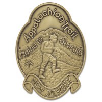 Appalachian Trail Hiking Medallion - New Jersey