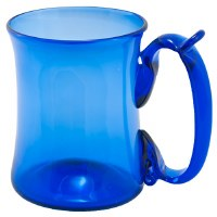 Cobalt Glass Mug