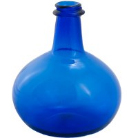 Cobalt Glass Onion Bottle