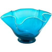 Teal Wave Bowl