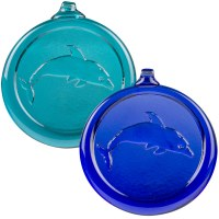 Handcrafted Glass Dolphin Ornament