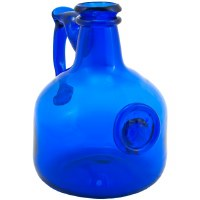 Cobalt Glass Wine Decanter