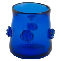Cobalt Brandy Shot Glass