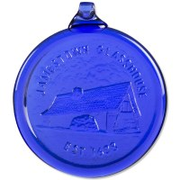 Cobalt Glasshouse Ornament