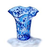 Cobalt Speckled Vase