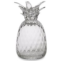 Clear Glass Pineapple