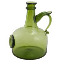 Green Wine Decanter