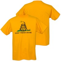 DON'T TREAD ON ME (Gadsden Flag) Short-Sleeve T-Shirt - MD