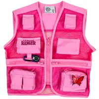 Pink Junior Ranger Vest Medium