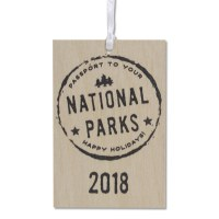 2018 Passport To Your National Parks® Ornament