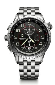 Victorinox Swiss Army Airboss Mach 9 Chronograph Mechanical Watch 241722 45mm