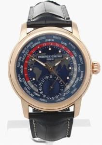 Frederique Constant Classic Worldtimer Manufacture Watch Model FC-718NRWM4H9