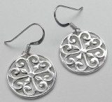 Southern Gates Round  Earring