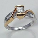Diamond ring 14kt 0.97 cttw model 032-M11469