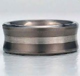 Titanium Artcarved 9mm Band