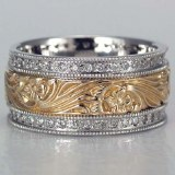 Diamond band 14kt 3/8 cttw model 167-16972D