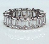 Diamond eternity band 7.74 cttw baguette cut model 18-2537