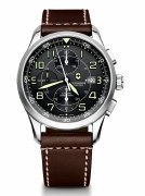 Victorinox Swiss Army Airboss Mechanical Chronograqph Watch 241597 42mm