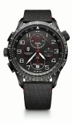 Victorinox Swiss Army Airboss Mach 9 Chronograph Mechanical Watch 241716 45mm