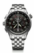 Victorinox Swiss Army Airboss Mach 9 Chronograph Mechanical Watch 241722 45mm