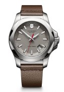 Victorinox Swiss Army INOX Leather Watch 241738.1