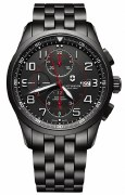 Victorinox Swiss Army Airboss Mechanical Black Watch 241741 45mm