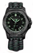 Victorinox Swiss Army INOX Carbon Watch Model 241859 43mm