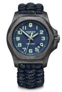 Victorinox Swiss Army INOX Carbon Watch Model 241860 43mm