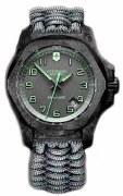 Victorinox Swiss Army INOX Carbon Watch Model 241861 43mm