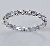 Diamond eternity band 14kt 1.00 cttw model 283-AWS100