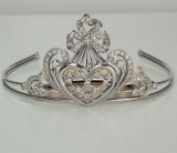 Diamond Tiara 1.56 carat total weight model 3632322