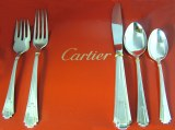 Cartier La Maison De Louis Cartier 5 piece place setting set of 12 (60pc) model 5PIECEPLACESETTING