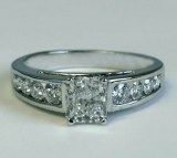Diamond Ring 1.55cttw 14ktw model ADA-68B