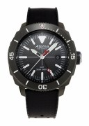 Alpina Seastrong Diver Quartz GMT Watch Model AL-247LGG4TV6