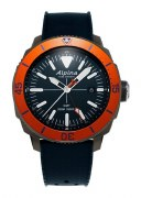Alpina Seastrong Diver Quartz GMT Watch Model AL-247LNO4TV6