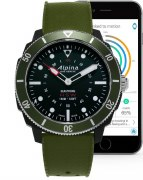 Alpina Seastrong Horological Smart Watch Model AL-282LBGR4V6