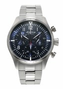 Alpina Startimer Pilot Quartz Chronograph Watch 42mm Model AL-371NN4S6B