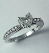 Diamond Ring 14kt .75cttw