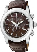 Citizen Eco Drive Men's AT0550-11X WR100 Brown Watch