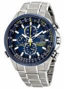 Citizen Eco Drive Men's Blue Angels World Chronograph Watch Model AT8020-54L