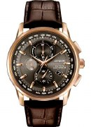 Citizen Eco Drive Men's World  Chronograph Watch Model AT8113-04H