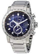 Citizen Eco-Drive World Time AT Watch Model AT-9070-51L